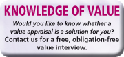 Knowledge of value